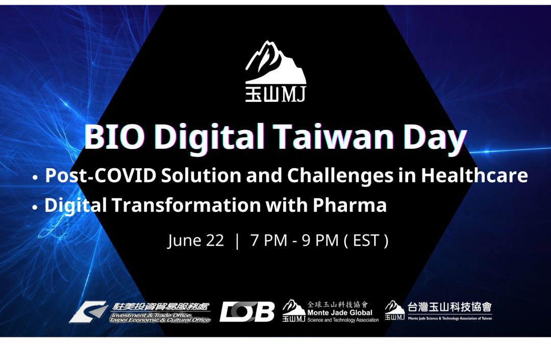 BIO Digital Taiwan Day