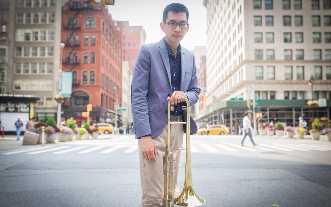 Hearing jazz musician Peter Lin's musical roots